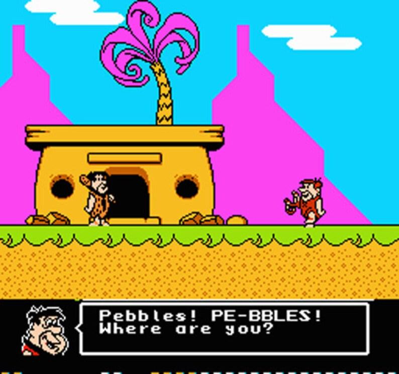 The Flintstones The Surprise at Dinosaur Peak! NES