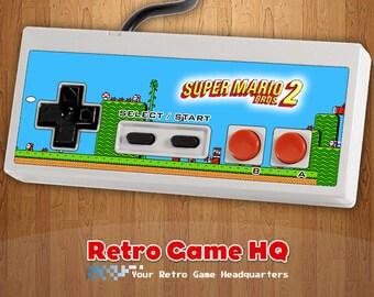 NES - Super Mario Bros. 2 - Controller Overlay (Controller Not Included)