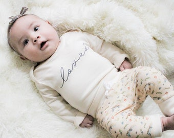 Unicorn/Loved Set - Organic Baby Apparel