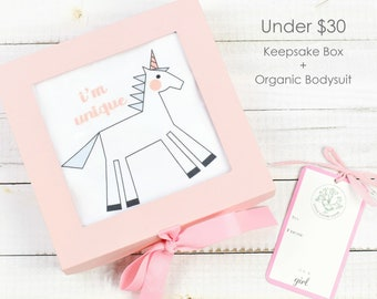 Unicorn Theme - Keepsake Gift Box