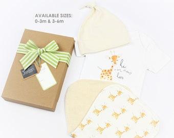 Baby Giraffe Theme - Welcome Gift Set