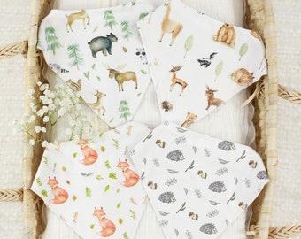 Organic Baby Bandana Bibs