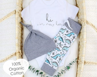 Playful Dinosaurs - Organic Baby Apparel