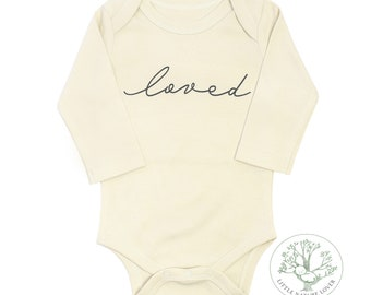 Organic Baby Clothes, Gender Neutral Baby Clothes, Loved Baby Clothes, Nature Baby Clothes, Coming Home Baby Clothes, Newborn Baby Clothes