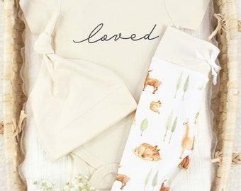Llama & Bambi Theme - Organic Baby Apparel