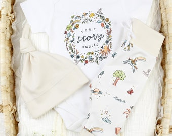 Your Story Awaits -Organic Baby Apparel