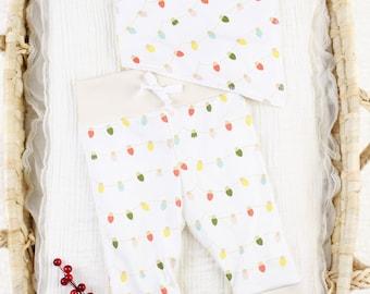 Christmas Lights - Organic Baby Apparel