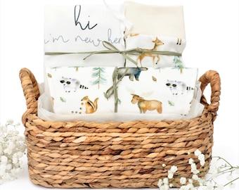 Woodland Nature Friends Theme - Organic Gift Basket