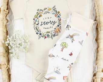 Your Story Awaits Baby - Organic Baby Clothes