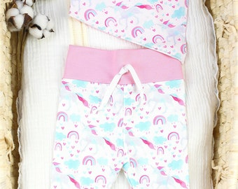 Unicorn Baby Girl Theme - Organic Baby Apparel