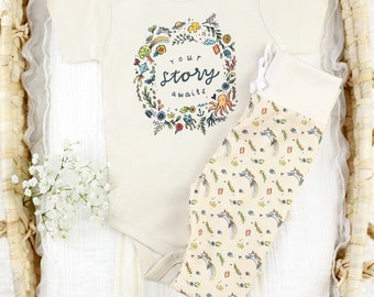 Your Story Awaits  - Organic Baby Apparel