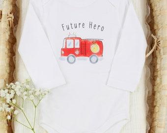 Futuro Hero - Organic Baby Bodysuit