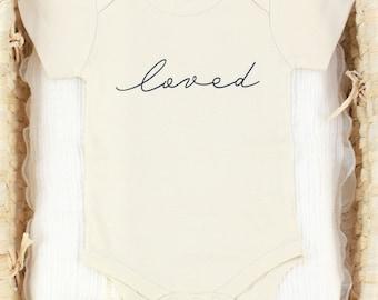 Loved - Organic Baby Bodysuit