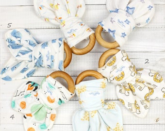 CPSIA Compliant Organic Baby Teether Toy