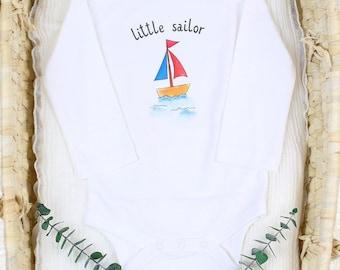 Little Sailor - Organic Baby Bodysuit