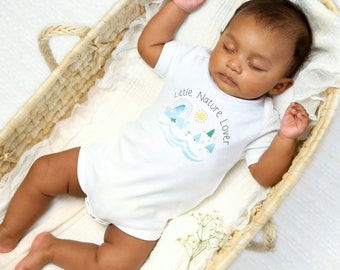 Little Nature Lover - Organic Baby Bodysuit
