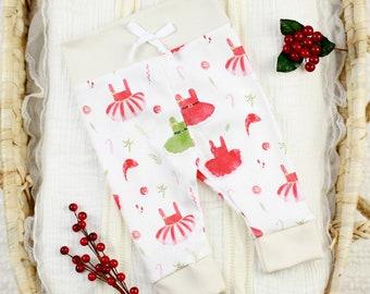 Christmas Baby Girl Outfit - Organic Baby Apparel