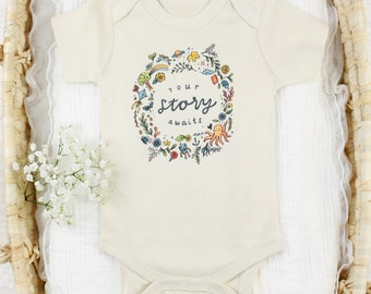 Your Story Awaits - Organic Baby Bodysuit