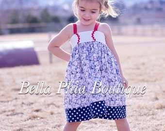 Girls Baseball Dress