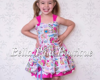 Blue Shopkins Poppy Dress