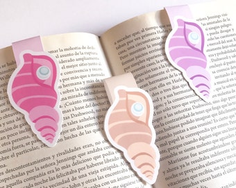 Shells Bookmarks - Sea Shells Magnetic Bookmarks