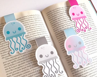 Jellyfish Bookmarks - Jellyfish Magnetic Bookmarks