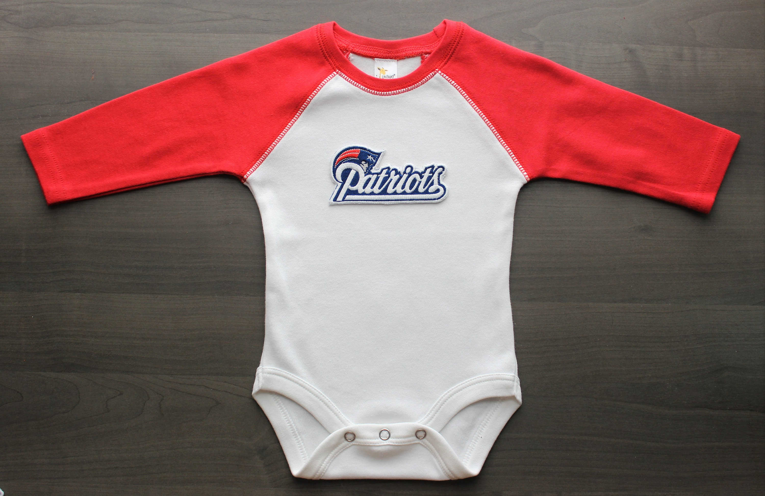 new style 9e9ad 9395d Patriots baby shirt, New England Patriots inspired baby raglan bodysuit,  Patriots outfit