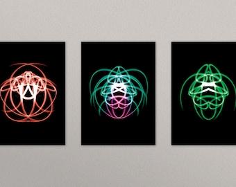 Light Bugs - Postcard Set