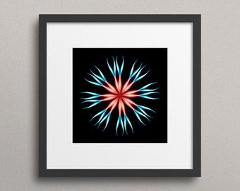 Smoke Flower - Fine Art Abstract Print