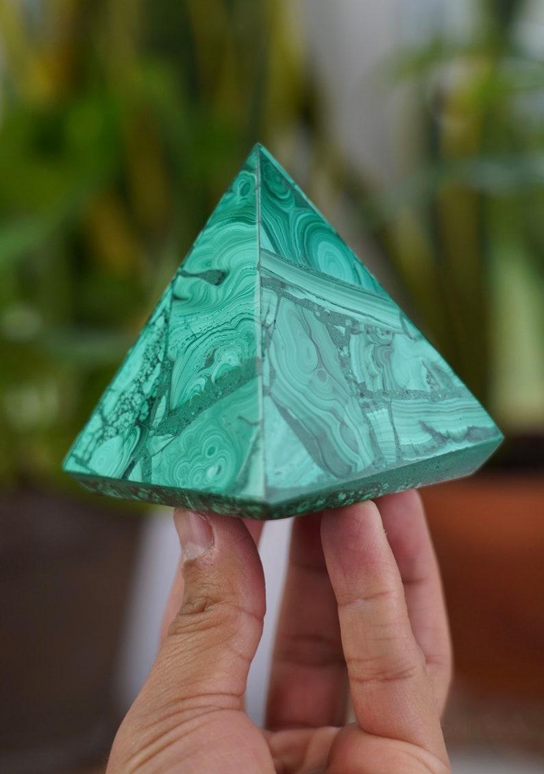 Malachite pyramid Congo image 0