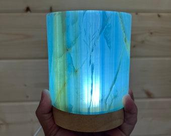 Beautiful Aragonite Lamp (Argentina)