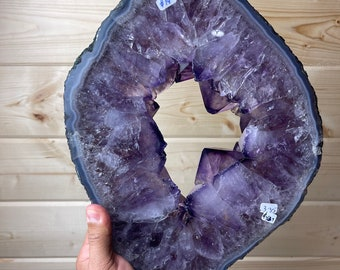 Amethyst & Agate Portal Slice