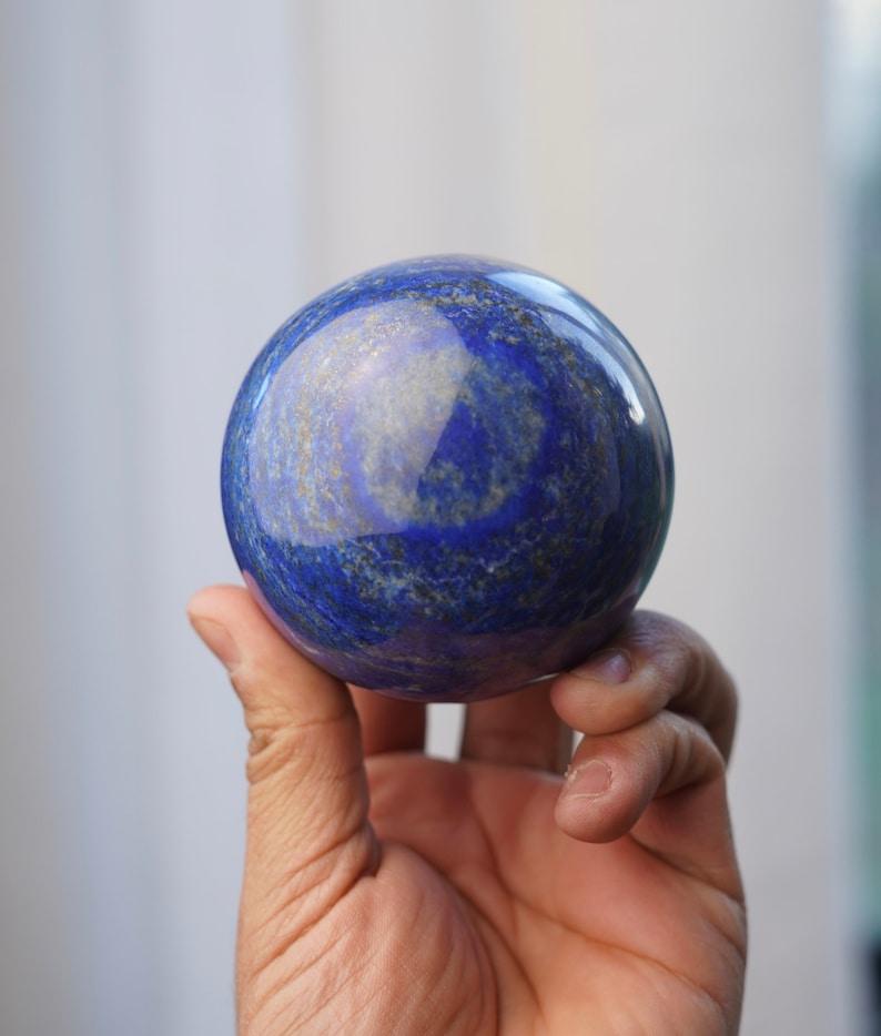 Beautiful Large Lapis Lazuli Sphere Afganistán image 0