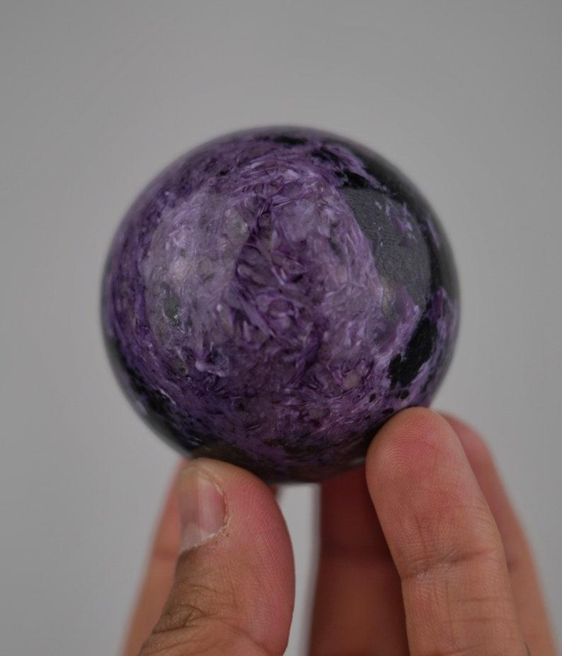 Charoite Sphere Russia image 0