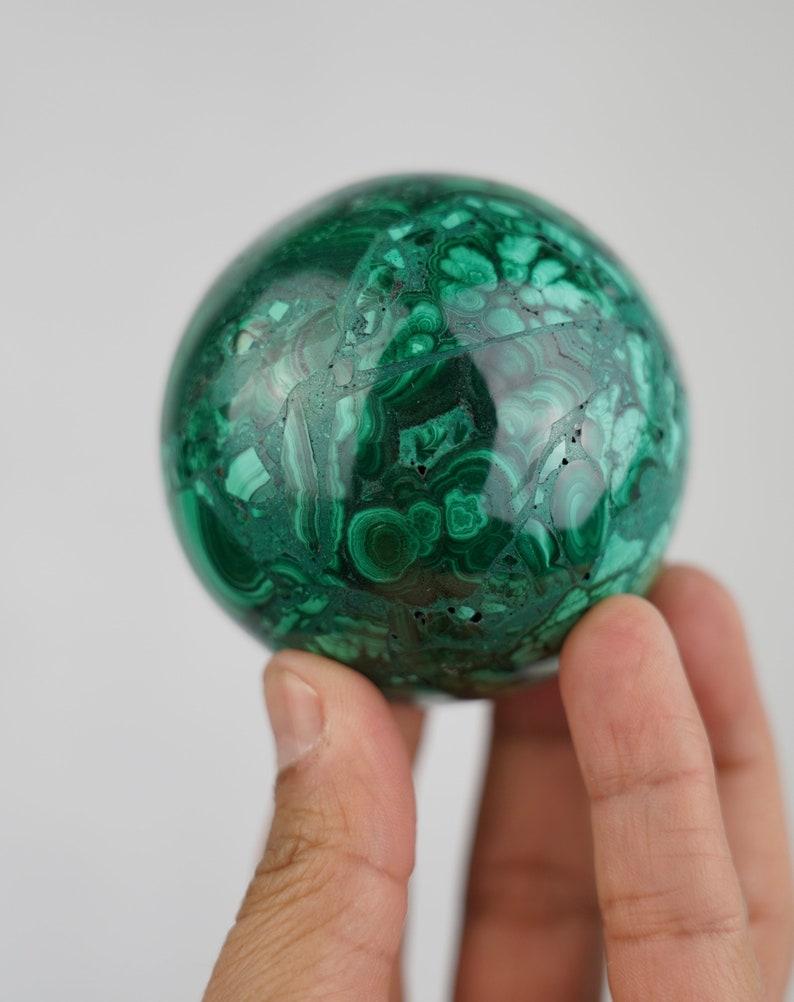Malachite sphere Congo image 0