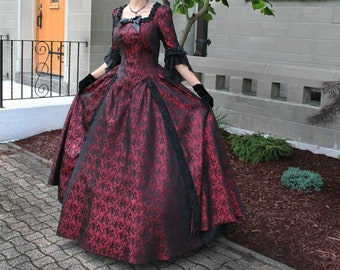 3c37a7fd3d73 130800-1 Vanessa Revolutionary Style Gown. RecollectionsDresses