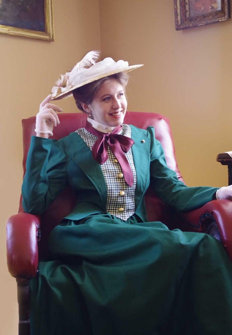 1900 -1910s Edwardian Fashion, Clothing & Costumes Davina Hunter Suit $219.95 AT vintagedancer.com