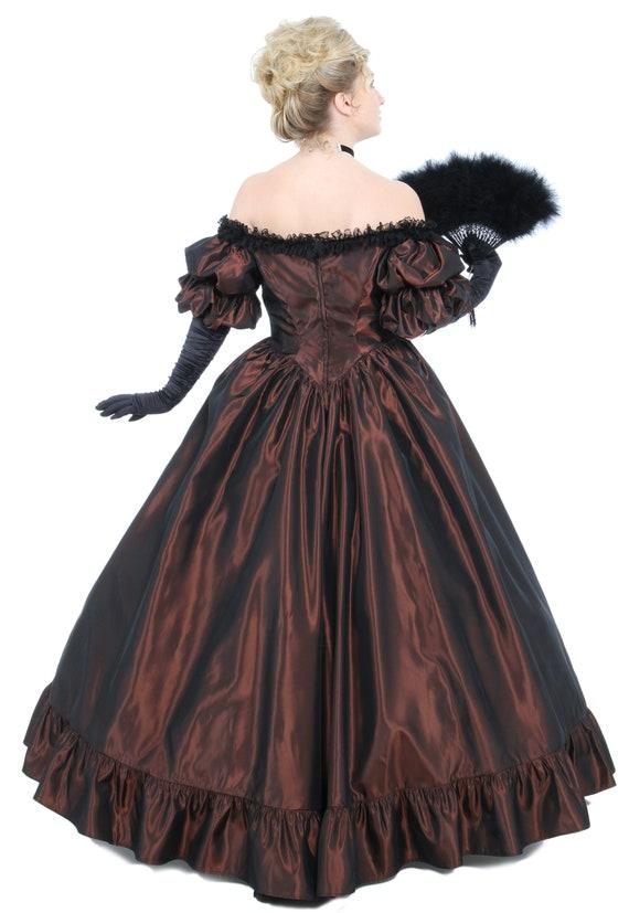 130611 Ball Victorian Off Priscilla Shoulder Gown UIr7Iq