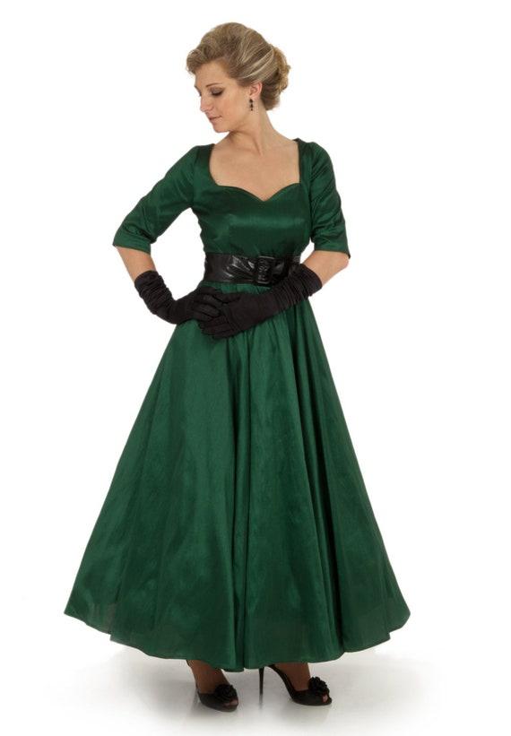 1950s Prom Dresses & Party Dresses Sonya 1950s Dress $143.00 AT vintagedancer.com