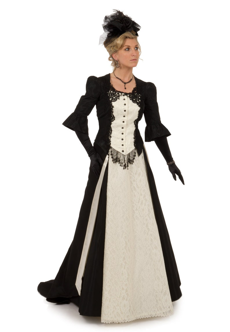 Victorian Clothing, Costumes & 1800s Fashion Mistique Victorian Ensemble $349.95 AT vintagedancer.com