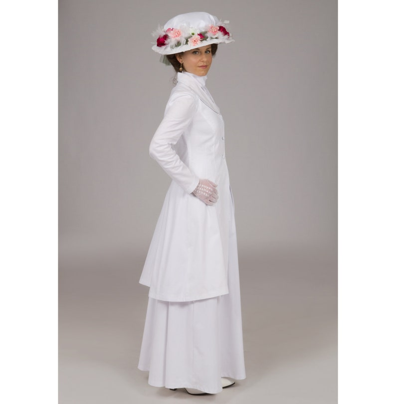 Victorian Plus Size Dresses | Edwardian Clothing, Costumes Honora Edwardian Suit $219.95 AT vintagedancer.com