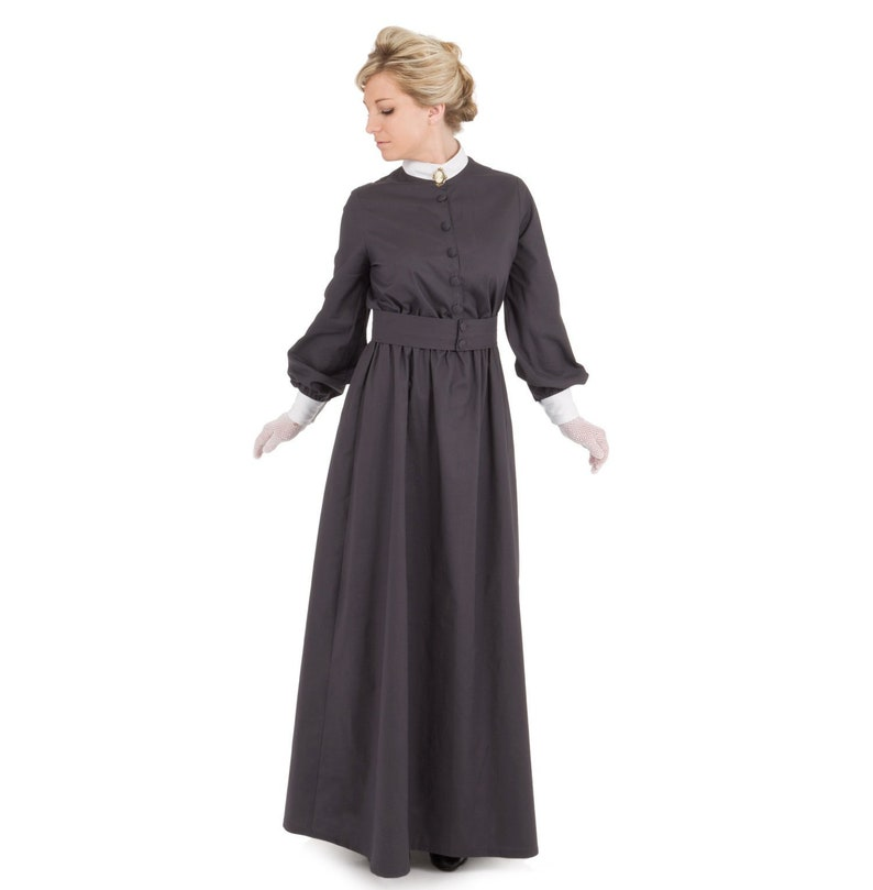 Victorian Plus Size Dresses | Edwardian Clothing, Costumes Hallie Edwardian Dress $139.95 AT vintagedancer.com