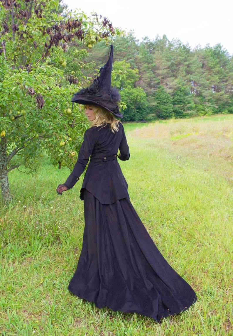 Victorian Dresses | Victorian Ballgowns | Victorian Clothing     Read the full title    Classy Witch Victorian Corduroy Suit $219.00 AT vintagedancer.com