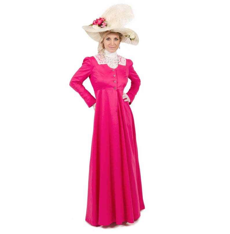 Titanic Fashion – 1st Class Women's Clothing Eveline Edwardian Dress and Chemisette $126.95 AT vintagedancer.com