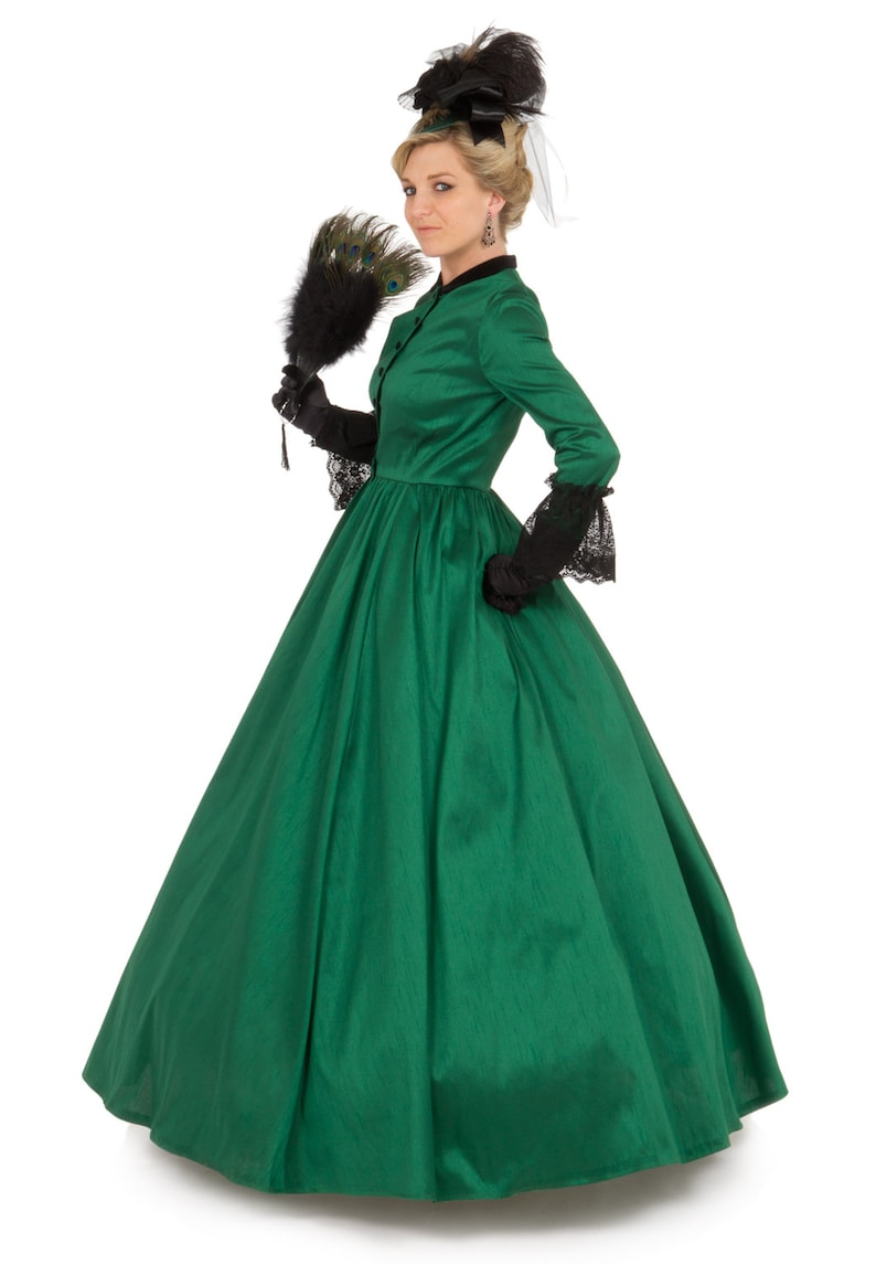 Victorian Dresses | Victorian Ballgowns | Victorian Clothing Victorian Civil War Style Gown $219.95 AT vintagedancer.com