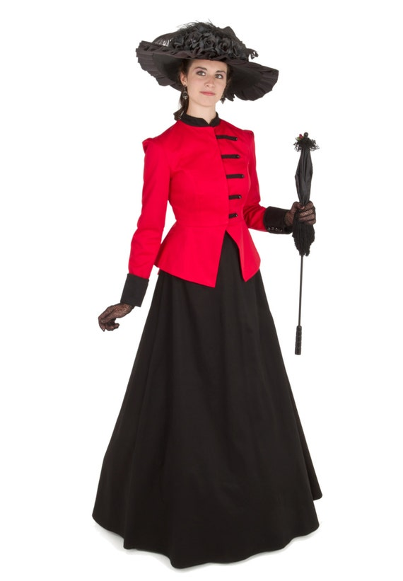 Victorian Dresses, Clothing: Patterns, Costumes, Custom Dresses Tempest Victorian Suit $135.00 AT vintagedancer.com