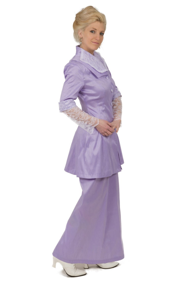 Old Fashioned Dresses | Old Dress Styles 180300-1 Edwardian Dupioni Suit $249.95 AT vintagedancer.com