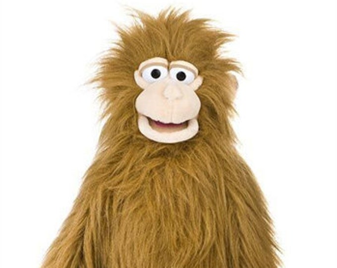 """New GIANT MONKEY PUPPET - 38"""" Professional Muppet Wraps Around Your Body - Made for Professional Puppetry"""