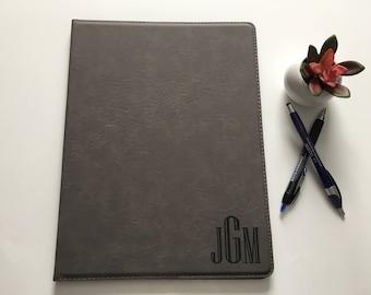 Personalized Leather Portfolio | Journal | Padfolio | Corporate Gift | Graduation Gift | Husband Gift | Business Gift Ideas | Executive Gift