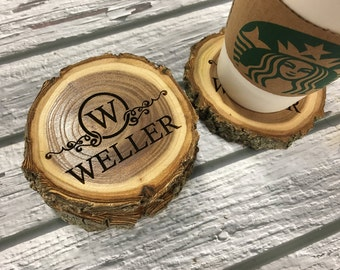 Custom Coasters | Christmas Gift Ideas | Wood Coasters | Gift for Wife | Gift For Her | Couples Gift | Wedding Gift Idea | Engraved Coasters